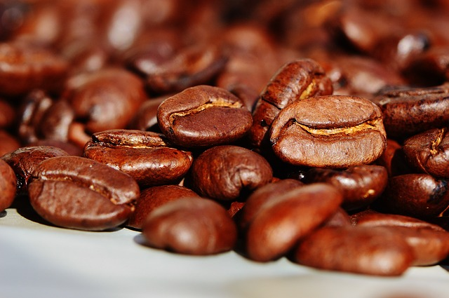 Kaffee im Büro mit Coffee at work